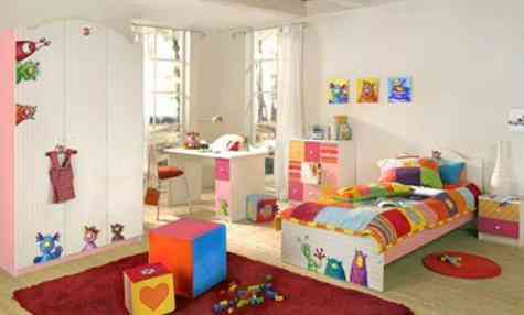 Ideas para dormitorios infantiles video decoraci n - Pintura dormitorios infantiles ...