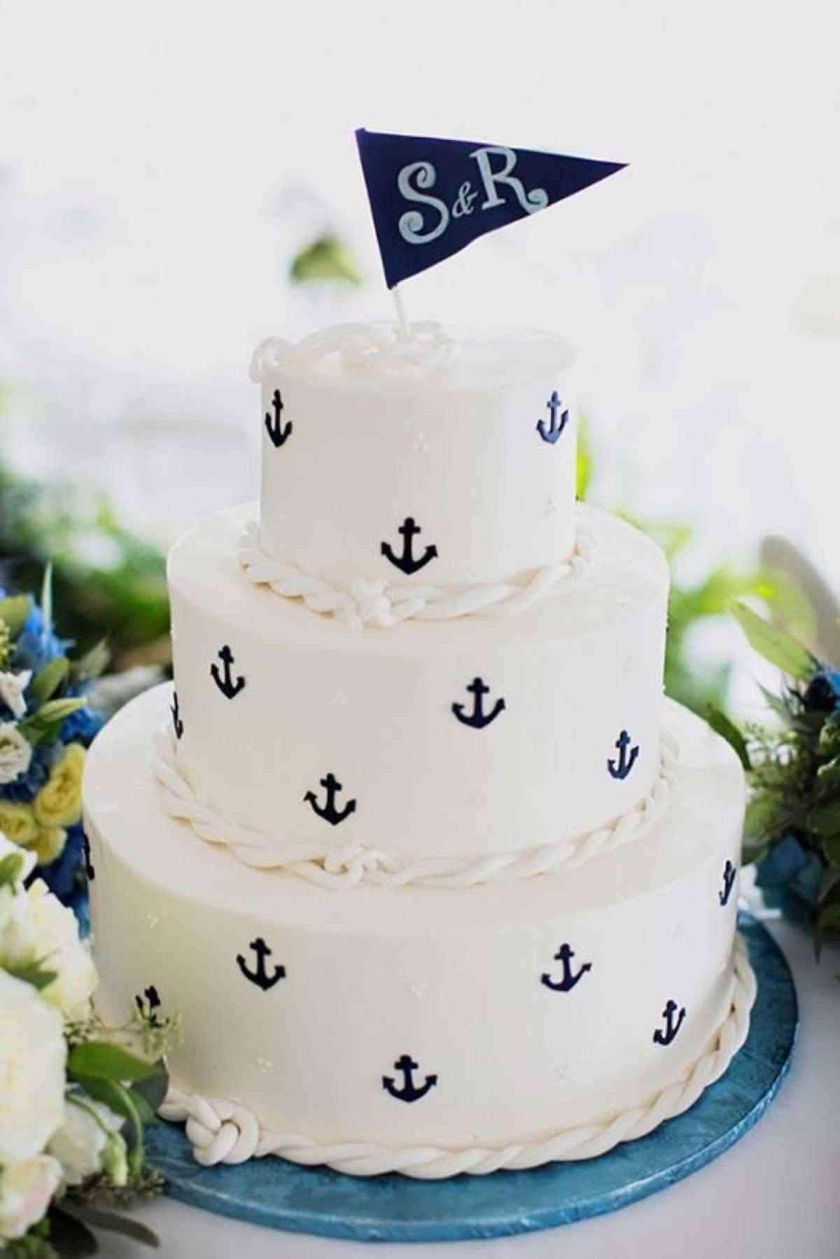 decoración de pasteles de boda