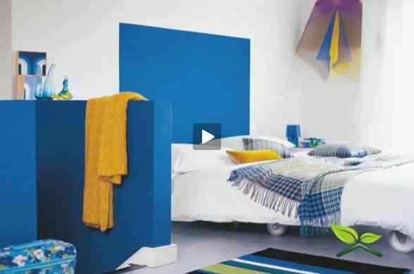 decoracion de habitaciones azul
