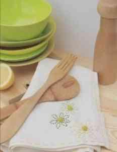 decorar paños de cocina