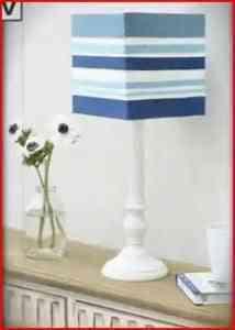 lámpara con cintas