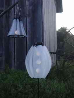 lámparas de jardín