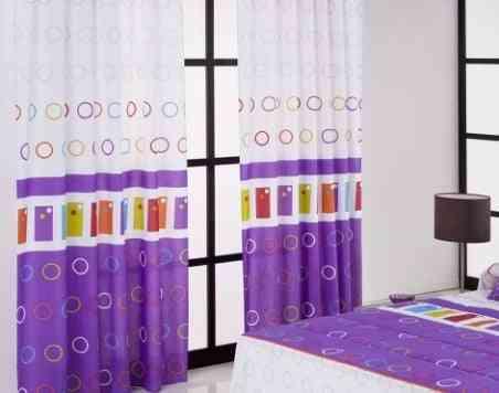 cortinas para la habitación de un adolescente