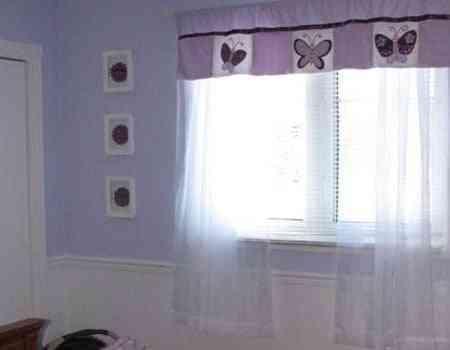 las cortinas bebe
