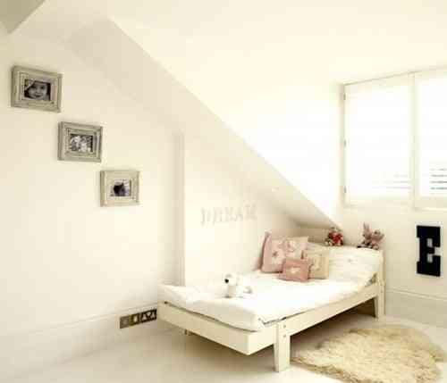 blanco decoracion habitaciones infantiles