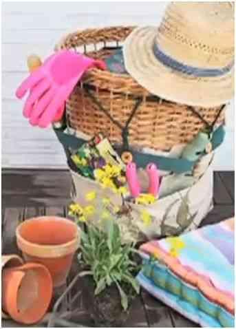 cesta de jardinería