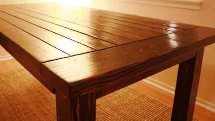 Construye una mesa de comedor - Video Decoración