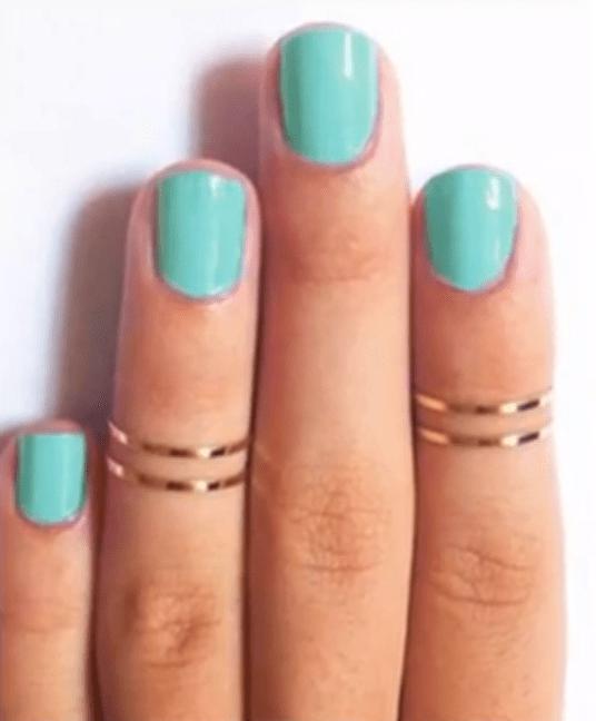 7c5f02cff67f DIY: cómo hacer los anillos de moda - Video Decoración