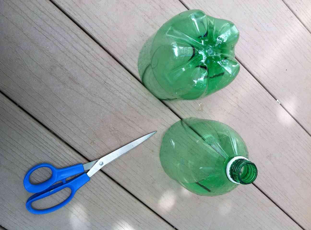 botella de plastico