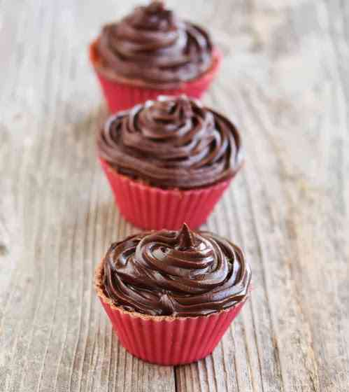 cupcakes hechos en el microondas