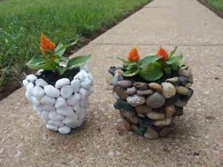 Macetas de piedra