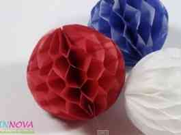 bolas nido de abeja