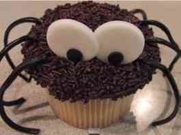 decorar cupcake de halloween