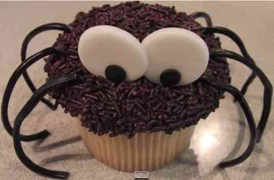 decorar cupcake de halloween