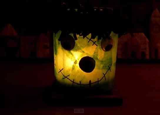 lampara para halloween