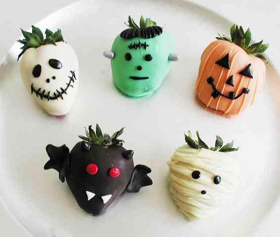 receta para halloween