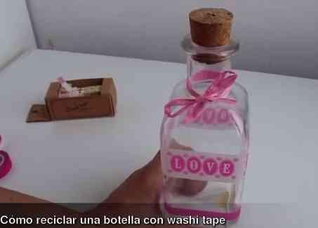 cómo_reciclar_botellas_con_washi_tape