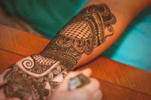 pasta de henna