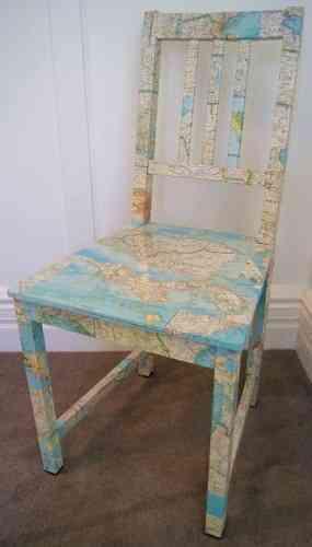 renovar una silla vieja
