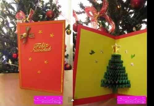 tarjetas navideñas 3D