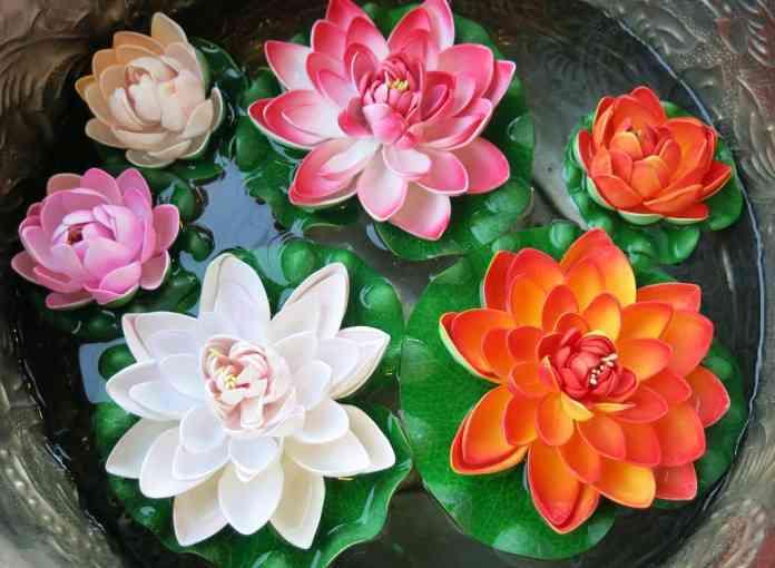 flor de plastico