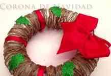 guirnalda navideña de cuerda