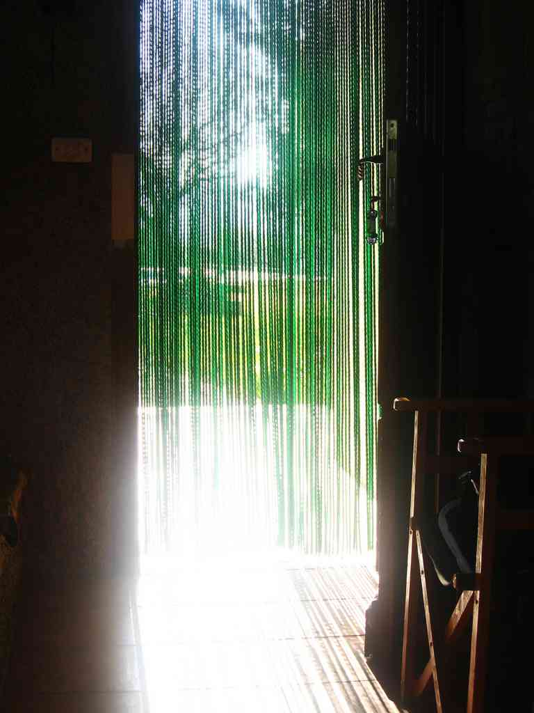 cortina de plastico