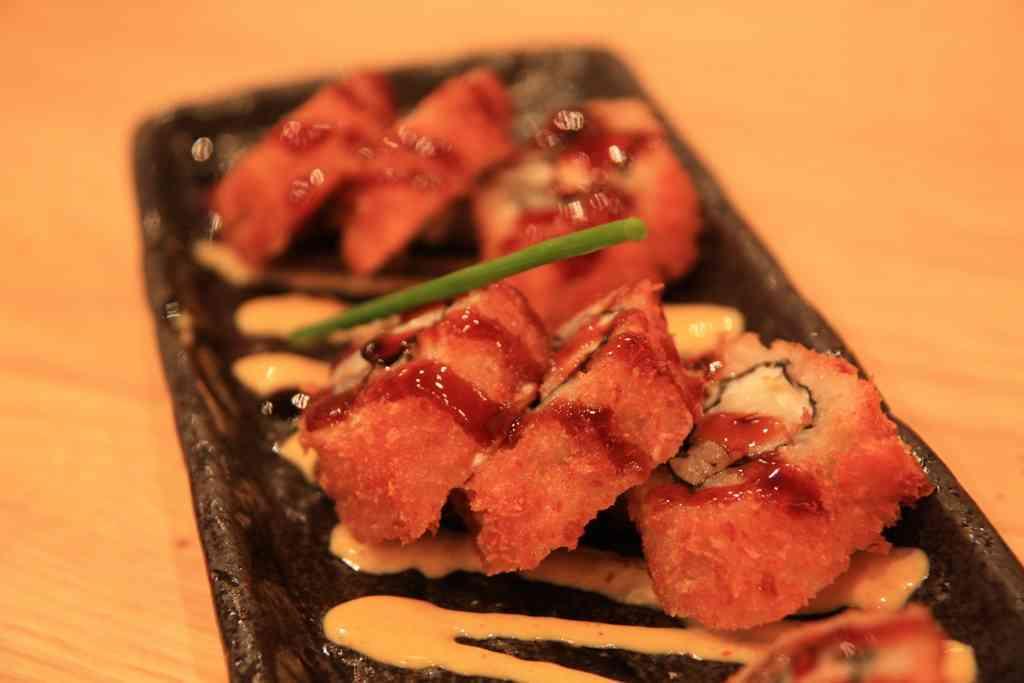 sushi frito