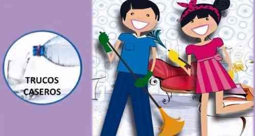 10 trucos para limpiar la casa