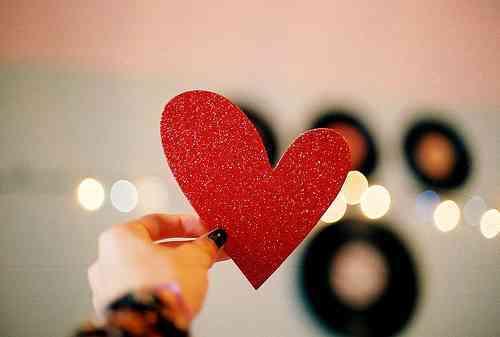 corazon de cartulina
