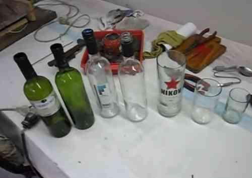 Hacer vasos con botellas recicladas