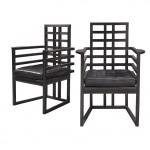 sillas hechas en madera