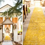 alfombra de color dorado
