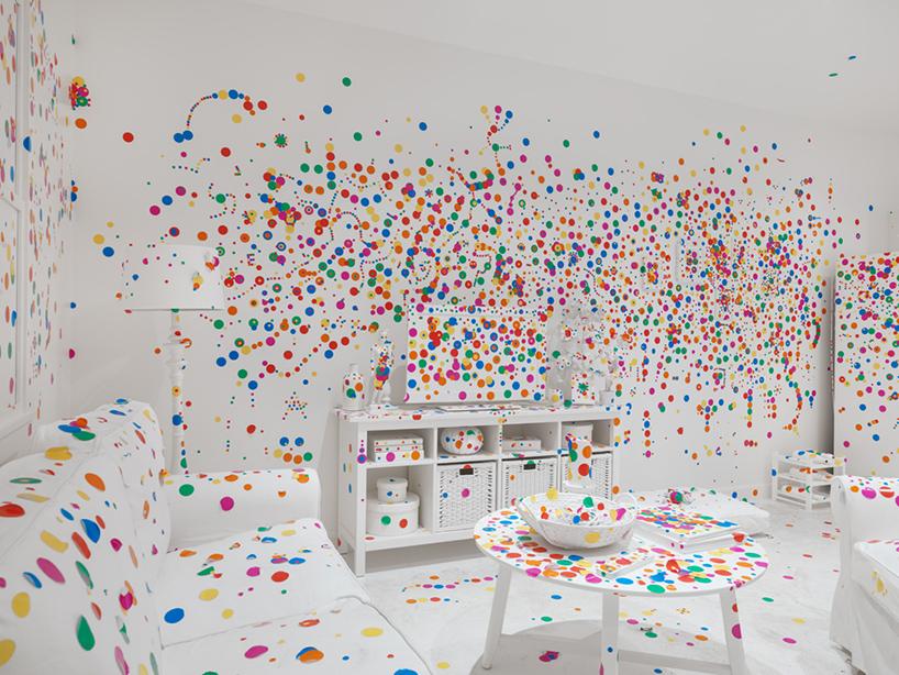 exposición de Yayoi Kusama