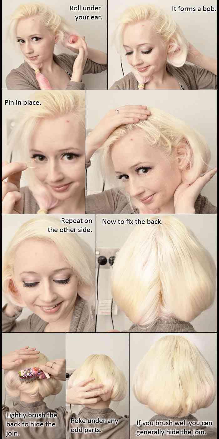 tutorial recogido cabello