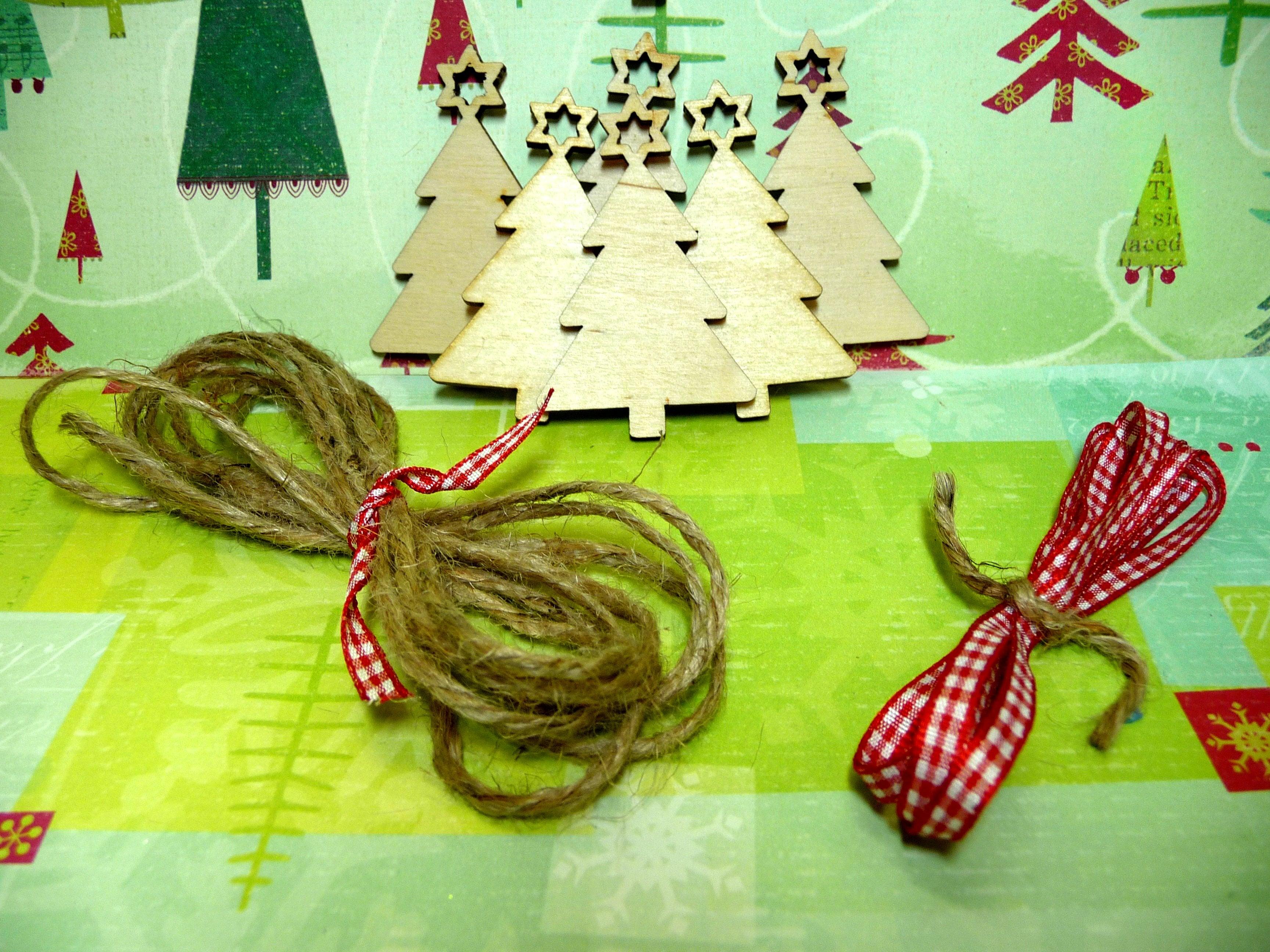 material para decorar árboles de Navidad