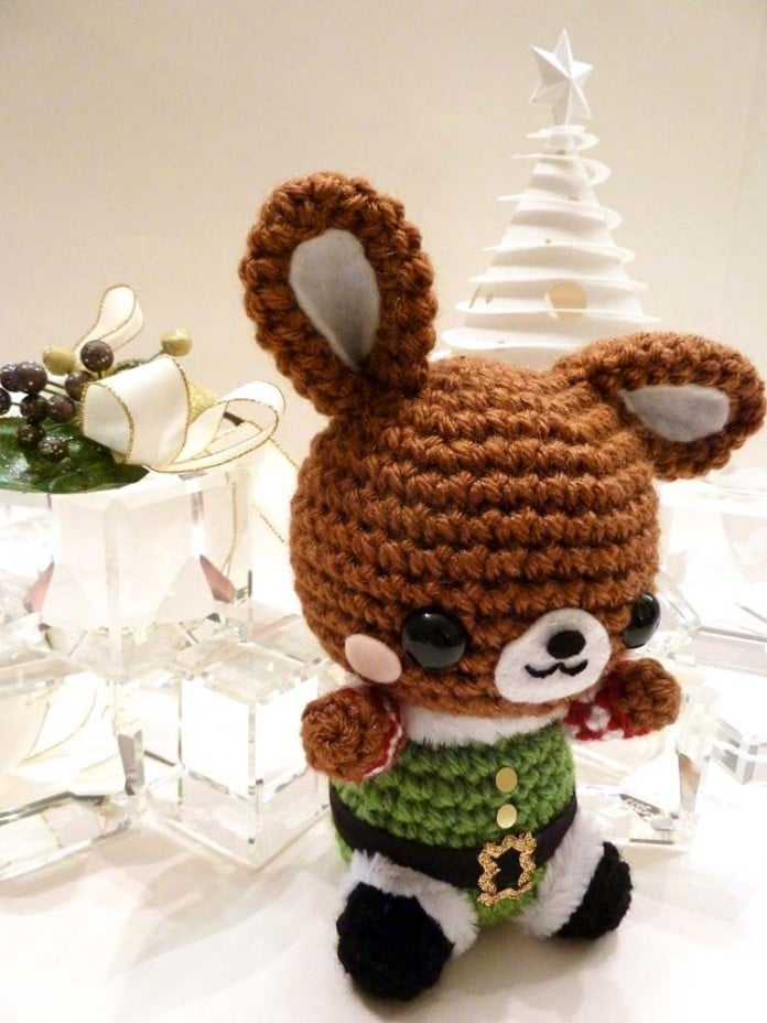 amigurumis hecho en crochet para Navidad