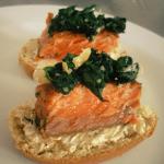 canape de salmón