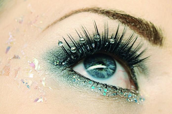 Maquillaje de fiesta para ojos