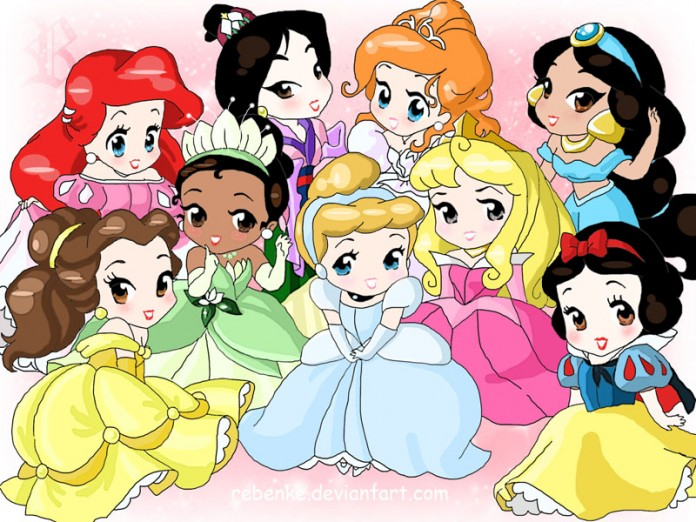 Peinados de princesas para niñas