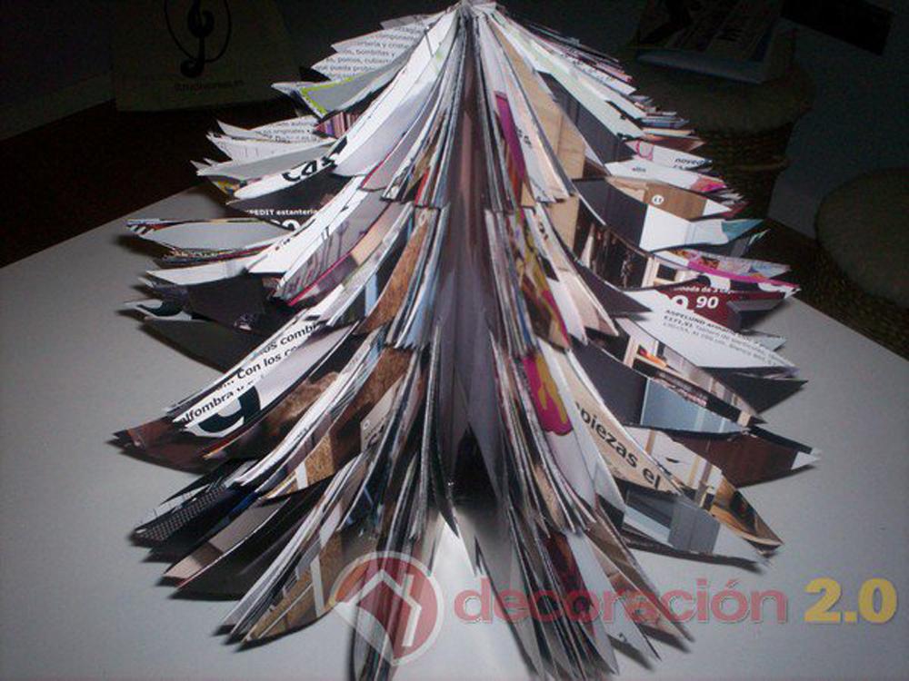 hacer un árbol de Navidad