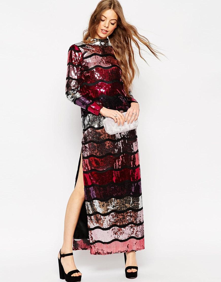 vestidos de fiesta para Nochebuena - vestido de fiesta marca ASOS