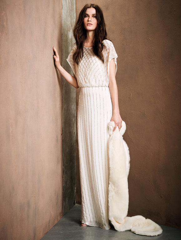 vestidos de fiesta para Nochebuena - vestido de fiesta en color blanco