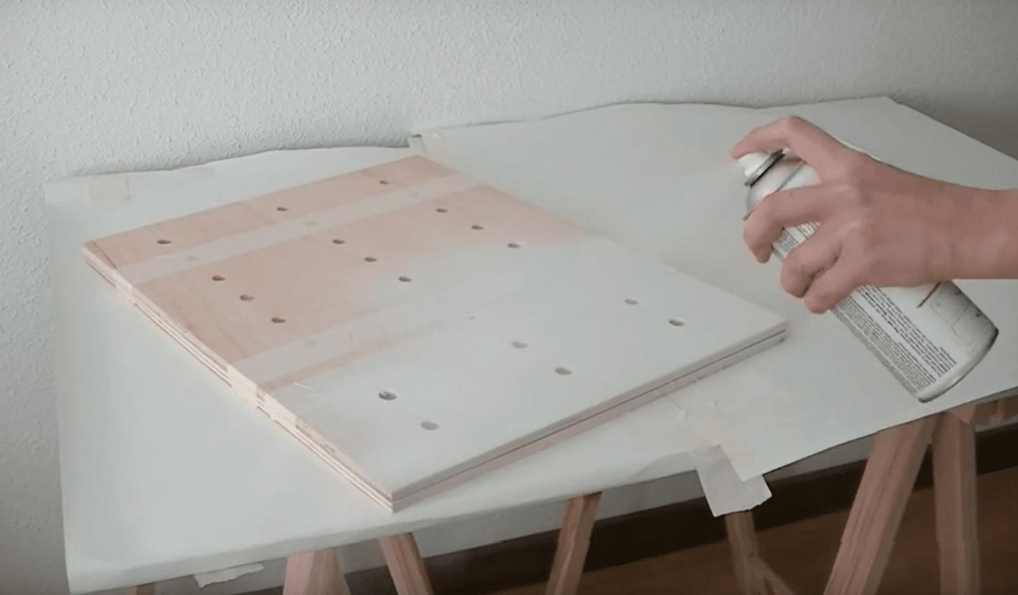 Como hacer una estantería para el recibidor