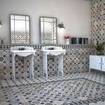 toque vintage al cuarto de baño