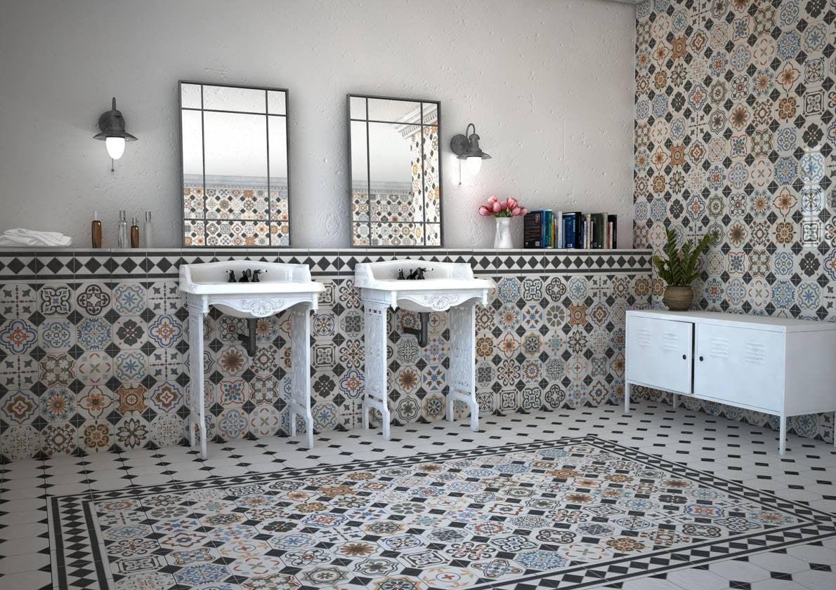 Toque vintage al cuarto de baño con sencillas claves