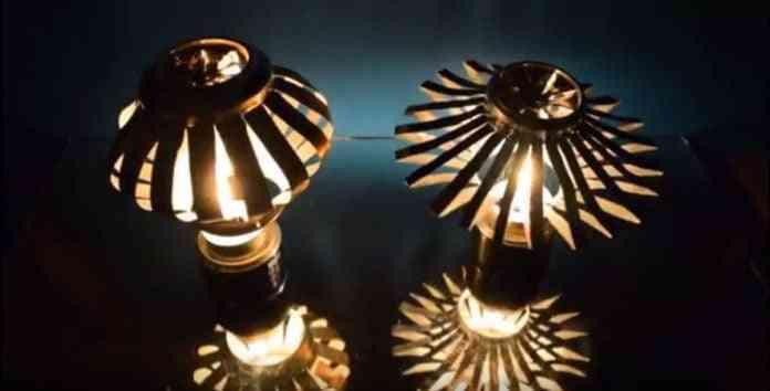 hacer una lámpara