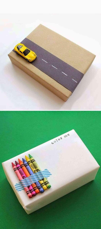 Decorar cajas de regalo para niños