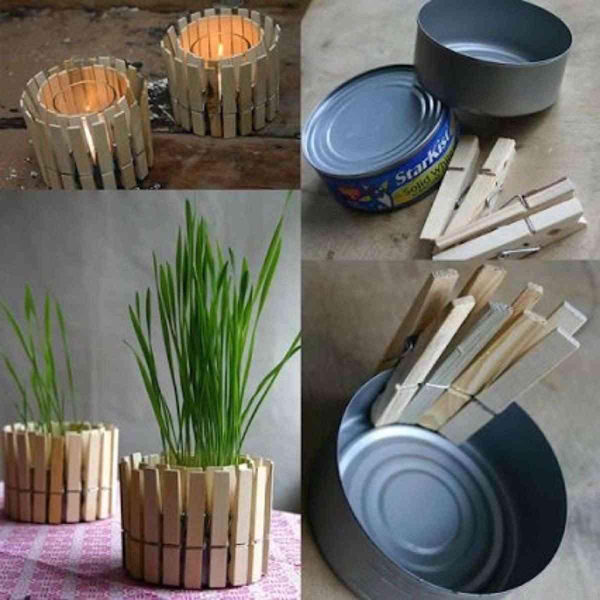 manualidades con pinzas de madera