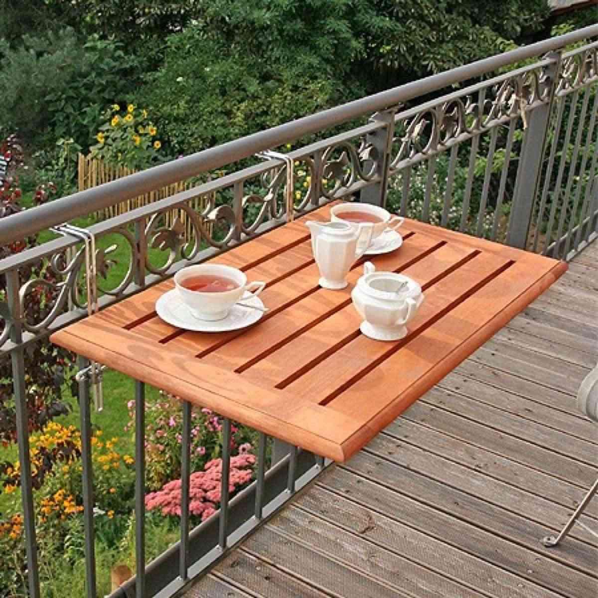 mesa para el balcon